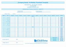 2 Week Time Card Calculator Timesheet Calculator Excel Spreadsheet For The Weekly Time