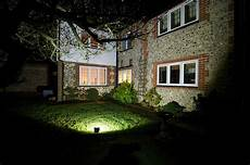 Backyard Flood Light Floodlighting Temperature Problem Electricians Forum