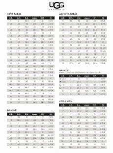 Ugg Robe Size Chart Ugg 174 Australia International Sizing Chart Skinnys