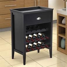 15 bottle wood wine rack cabinet holder organizer home bar