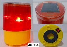 Tower Light Flasher Solar Warning Light 4 Led Road Project Tower Traffic Lamp