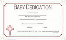 Baby Presentation Certificates 7 Free Printable Baby Dedication Certificate Templates Free