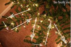How To Put Christmas Lights How To Put Lights On A Christmas Tree Two Twenty One
