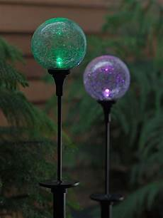 Solar Northern Lights Solar Stake Light Northern Lights Sphere Gardeners Com