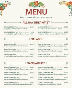 Restaurant Menu Samples 34 Menu Templates Ai Psd Docs Pages