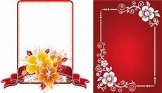immagini cornici da stare 2 cornici floreali floral frames vettoriali gratis it