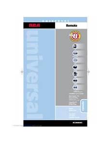Rca Rcu800 Universal Remote Control Manuals