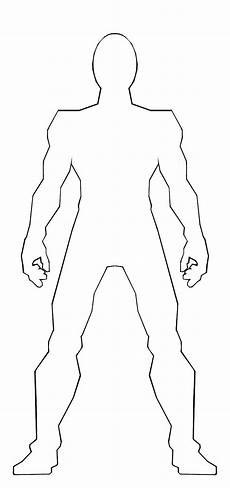 Body Template Outline Body Template By Ss209 On Deviantart