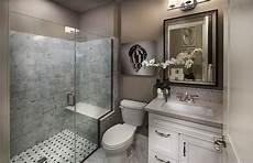 3 4 Bathroom Designs Traditional 3 4 Bathroom With High Ceiling Amp Flat Panel