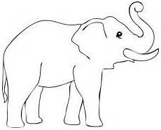 elefant ausmalbild malvorlagentv