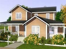 freebird sims 3 lot family house 01