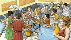 banchetti romani roma