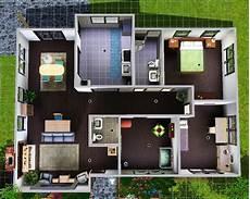simple sims 3 house layouts placement house plans 84894