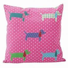 2 Cushion Sofa Slipcover Png Image by Pink Dachshund Cushion Cover 40cm Indigo Blue Trading