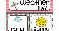 Weather Chart For Preschool Classroom Printable Weather Chart Bright Merged Pdf With Images Weather