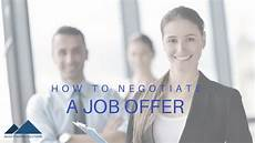 How To Negotiate A Job Offer Here S The Deal How To Negotiate A Job Offer