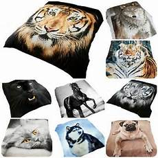Fur Sofa 3d Image by 3d Animal Print Effect Mink Faux Fur Throw Fleece Blanket