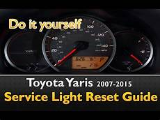 How To Take Off Maintenance Light On Toyota Corolla 2010 How To Turn Off Maintenance Light On Toyota Yaris