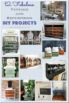 12 fabulous vintage and repurposed diy projects setting
