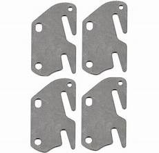 4 bed rail hook flat slot plates fits 2 quot bracket or
