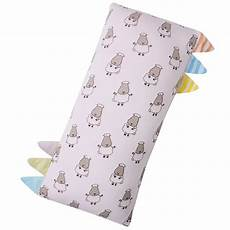 bed time buddy small sheepz pink with color stripe tag
