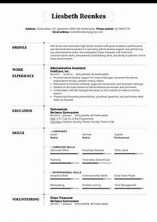 College Resume Examples For High School Seniors High School Resume Template Kickresume