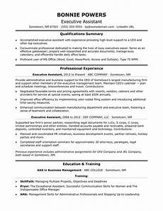 Executive Assistant Objective Executive Administrative Assistant Resume Sample Monster Com