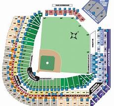 Coors Field Detailed Seating Chart Rows Ada Information Rockies Com Ballpark Information