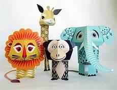 animal paper crafts designed by mibo gadgetsin