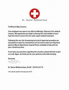 Dr Release Note Doctors Note For Work Absence Introduction Letter