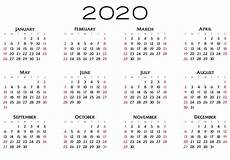 Images Of 2020 Calendar 2020 Calendar Free Stock Photo Public Domain Pictures