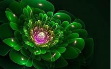 desktop green flower wallpaper green fractal flower wallpapers green fractal