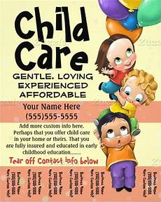 Free Daycare Flyer Templates 17 Fabulous Babysitting Flyer Designs Word Psd Ai