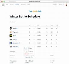 Free Basketball Schedule Maker Schedule Maker Free Tournament Scheduler