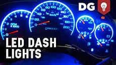 In Dash Led Lights How To Replace Gm Stepper Motor Amp Led Lights In Dash Youtube