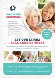 Home Care Flyer All In One Wordpress Health And Beauty Package