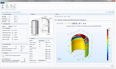 Designing An App To Analyze Stress In A Pressure Vessel