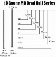 18 Gauge Brad Nail Size Chart Mb Brad Nail Headless Nail Buy Brad Nail 18 Gauge