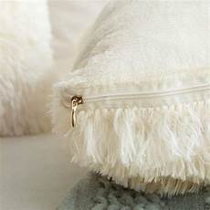 miulee pack of 2 luxury faux fur throw pillow cover deluxe