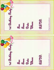 Birthday Invitation Card Maker Free Printable Birthday Invitation Maker Free Printable Party