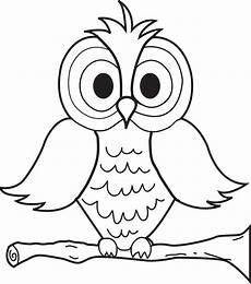 Owl Sheets Printable Cartoon Owl Coloring Page For Kids Supplyme