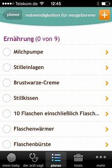 Shopping Checklists Shopping Checklists Stillkissen Stilleinlagen Neugeborene