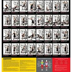 Parabody Home Gym Workout Chart Exercise Chart Gym Workouts Machines Gym Workout Chart