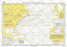 Pilot Charts Atlantic Pilot Chart Of The North Atlantic Ocean Published 1903