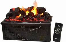 electric coal basket with real coals