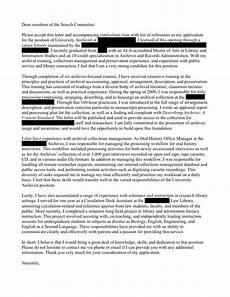 Archivist Cover Letters University Archivist Cover Letter Open Cover Letters