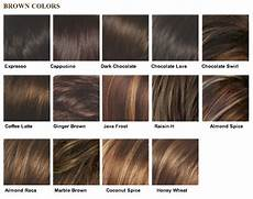 Different Shades Of Brown Hair Colour Chart 8 Best Images About Hair Colors On Pinterest Dark Brown