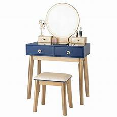 makeup vanity table set 3 color lighting dressing table