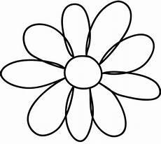 Flower Printable Flower Template For Children S Activities Activity Shelter