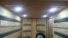 Enclosed Trailer Interior Led Light Kit Led Rv Interior Light 10 Diode Semi Recessed Low